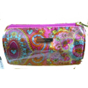 Cosmetic Bag in Paisley